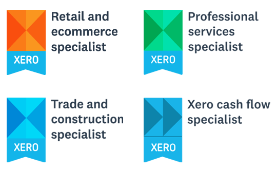 More Xero Accreditations