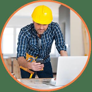 Banking services that benefit contractors