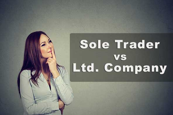sole trader vs limited company