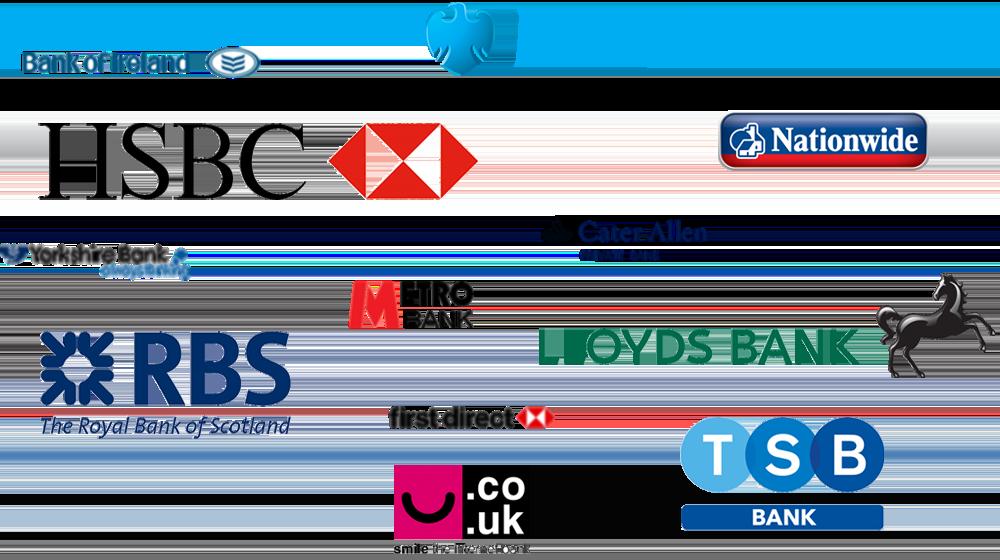 freeagent banking logos