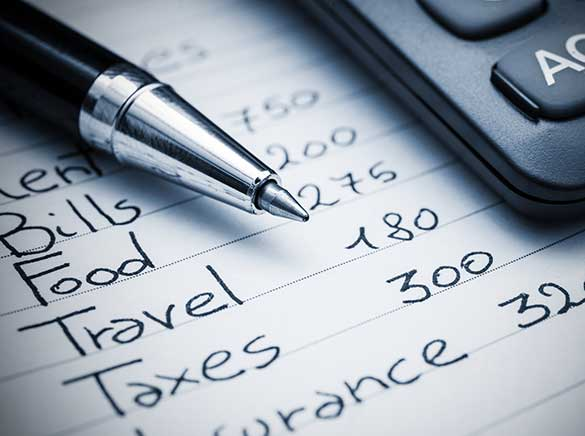claiming expenses
