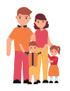 Spouse and children